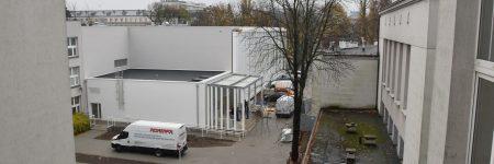 Budowa hali sportowej – listopad 2019
