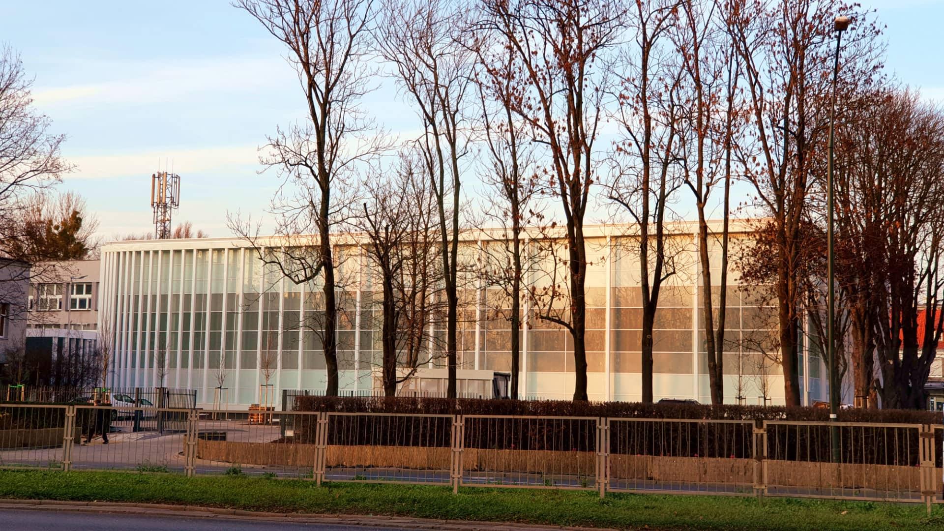Budowa hali sportowej